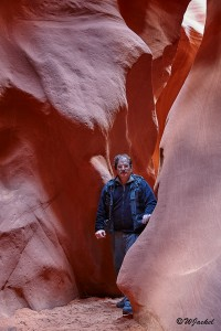 exploring the Antelope Canyon, Arizona, USA