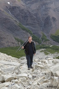Ascent to the MIrador de Las Torres, Patagonia