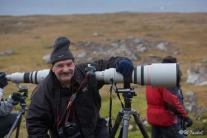 WJ at Alkhornet (Spitsbergen)