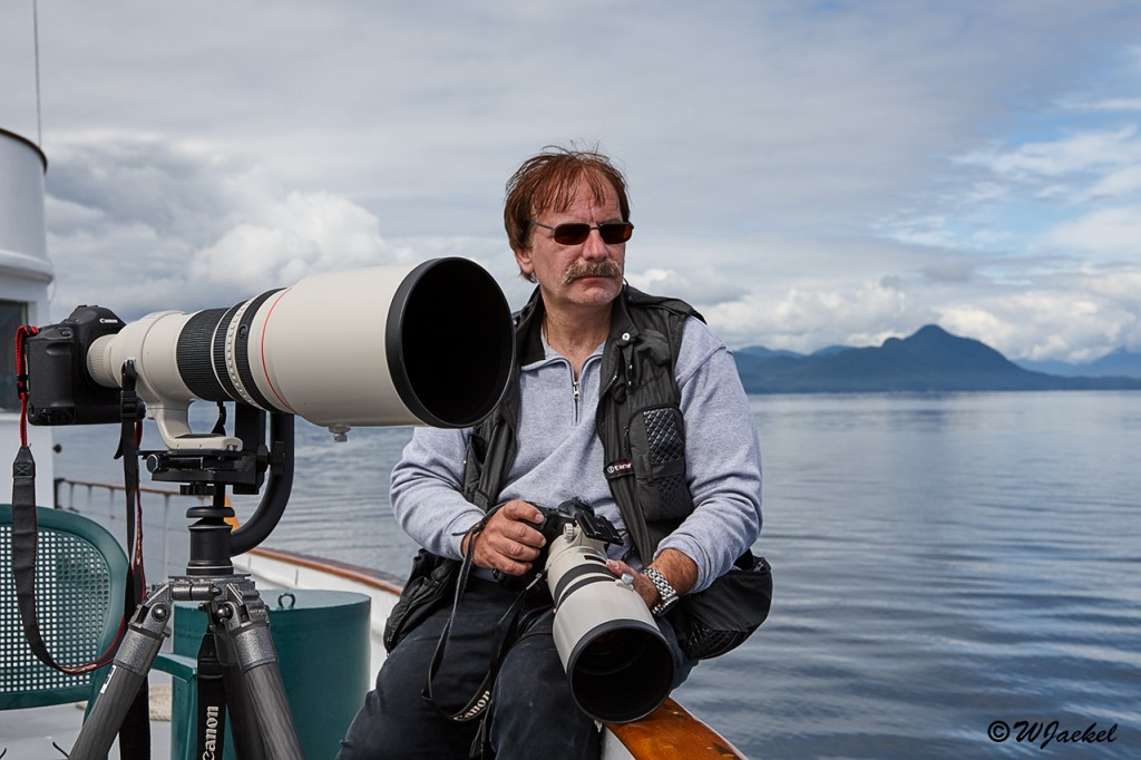 On a whale safari in the Inside Passage, Alaska